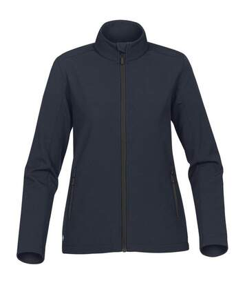 Stormtech Womens/Ladies Orbiter Softshell Jacket (Navy/Carbon) - UTBC4124
