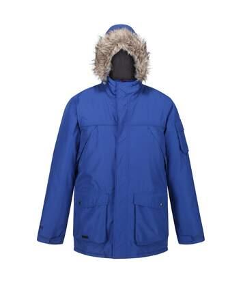 Regatta Mens Salinger II Faux Fur Insulated Parka (Bright Royal Blue) - UTRG5301