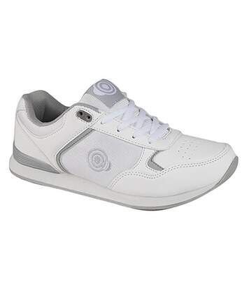 Dek Womens/Ladies Kitty Lace Up Trainer-Style Bowls Shoes (White) - UTDF951