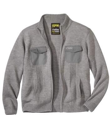 Úpletový svetr na zip Atlas Outdoor