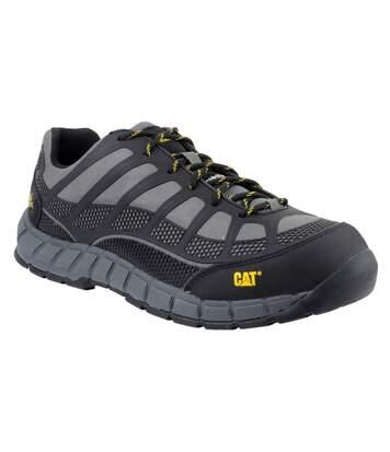 Caterpillar Streamline S1P Safety Footwear / Mens Shoes (Charcoal) - UTFS2313