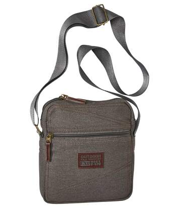 Stylish Men's Holster Bag - Grey