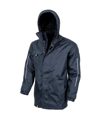Result Core Mens Printable 3-In-1 Transit Jacket (Navy) - UTPC2639