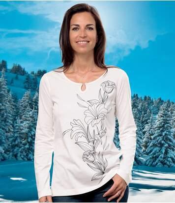Tričko spotlačou motívu l'alií