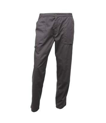Regatta Mens New Action Trouser (Regular) / Pants (Dark Grey) - UTBC834