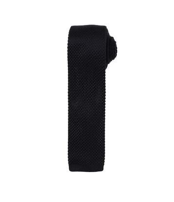 Premier - Cravate Effet Tricot - Homme (Lot De 2) (Noir) - UTRW6946