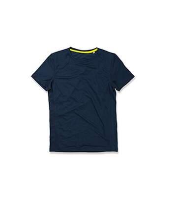 Stedman Mens Set In Mesh T-Shirt (Blue) - UTAB342