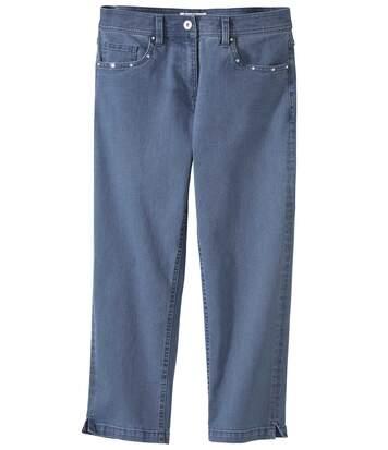 Pantacourt en Jeans Stretch Confort