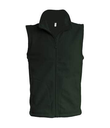 Kariban Mens Luca Fleece Gilet Jacket (Black) - UTRW739
