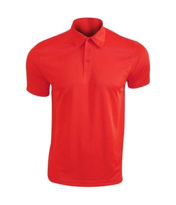 Kariban Proact Mens Short Sleeve Performance Polo Shirt (Lime) - UTRW4246