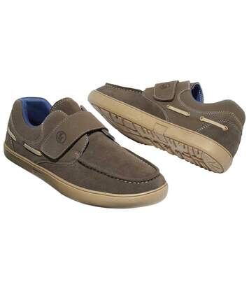 Buty żeglarskie zapinane na rzepy