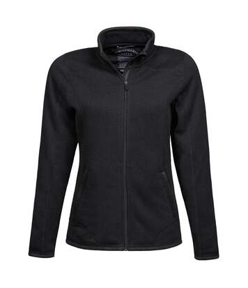 Tee Jays Womens/Ladies Full Zip Aspen Jacket (Black) - UTBC3333