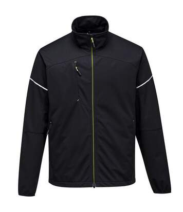 Portwest Mens PW3 Flex Shell Jacket (Black) - UTPC3531