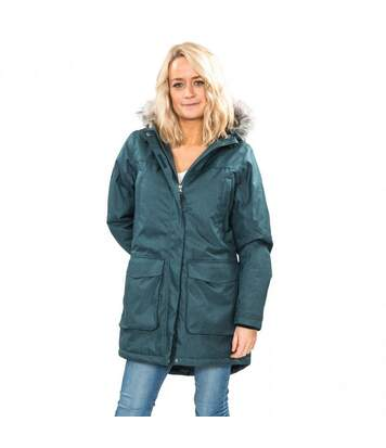 Trespass Womens/Ladies Thundery Waterproof Jacket (Teal/Silver Grey) - UTTP3548