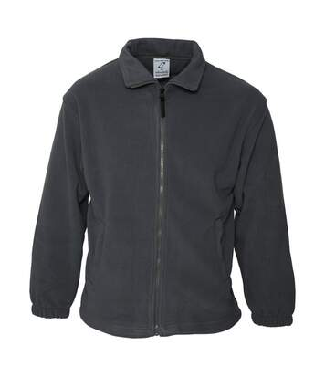 Absolute Apparel Heritage Full Zip Fleece (Black Opal) - UTAB128