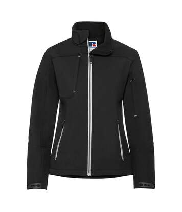 Russell Women/Ladies Bionic Softshell Jacket (Black) - UTRW6160