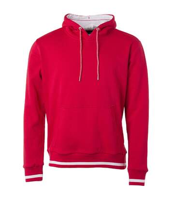 Sweat shirt à capuche homme - JN778 - rouge