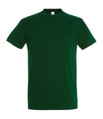 Sols - T-Shirt Manches Courtes Imperial - Homme (Vert bouteille) - UTPC290