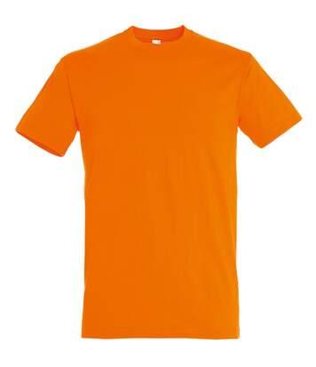 SOLS Mens Regent Short Sleeve T-Shirt (Orange) - UTPC288