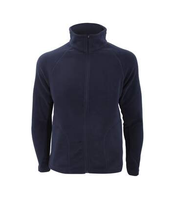 Result Core Mens Micron Anti Pill Fleece Jacket (Navy Blue) - UTBC852