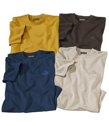 Sada 4 triček skrátkými rukávy