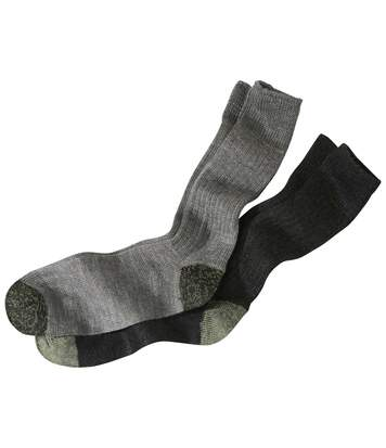 Sada 2 párů technických ponožek skevlarovým® vláknem