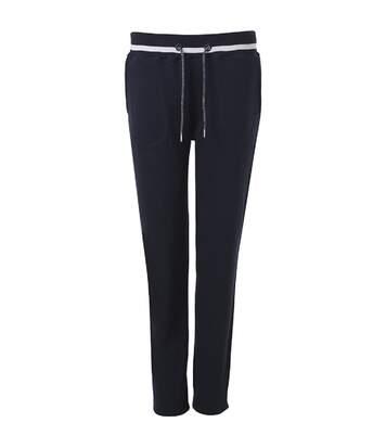 Pantalon jogging femme - JN779 - bleu marine