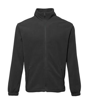 2786 Mens Full Zip Fleece Jacket (280 GSM) (Black) - UTRW2506