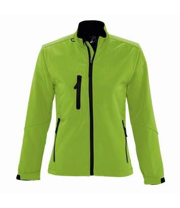 SOLS Womens/Ladies Roxy Soft Shell Jacket (Breathable, Windproof And Water Resistant) (White) - UTPC348