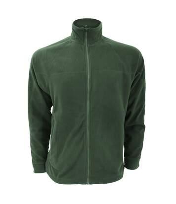 Craghoppers Mens Basecamp Microfleece FZ Full Zip Jacket (Dark Green) - UTRW367