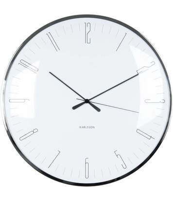 Horloge avec dôme en verre Dragonfly