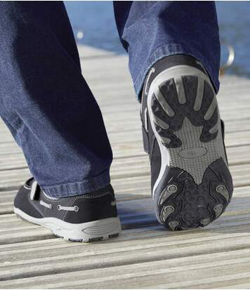 Bootschoenen met klittenband