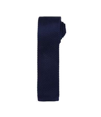 Premier - Cravate Effet Tricot - Homme (Lot De 2) (Bleu marine) - UTRW6946