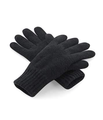 Beechfield - Gants Thermiques Thinsulate Polaires - Adulte Unisexe (Noir) - UTRW3671