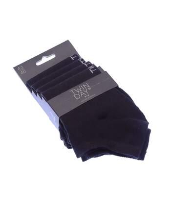 Chaussette Mini-chaussettes - Lot de 4 - Sans bouclette - Noir
