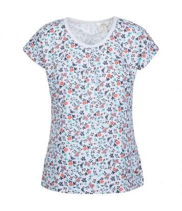 Trespass - T-Shirt Floral - Femmes (Blanc fleurie) - UTTP4706