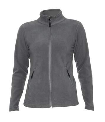 Gildan Hammer Womens/Ladies Micro Fleece Jacket (Charcoal) - UTPC3987