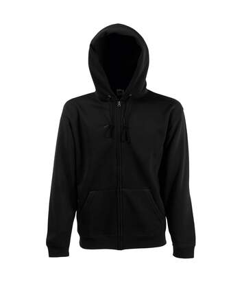 Fruit Of The Loom Mens Hooded Sweatshirt (Black) - UTBC1369