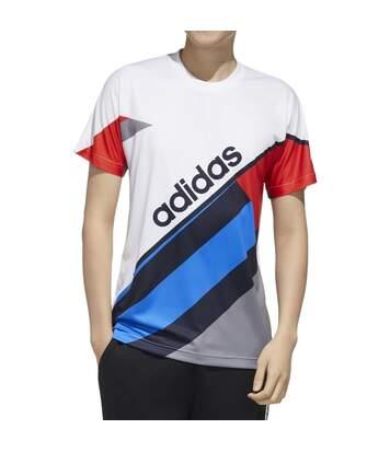 T-shirt Blanc Homme Adidas CB T 1