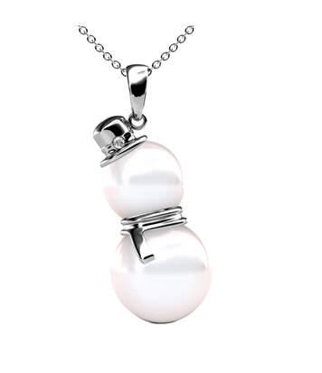 Pendentif Snowman Pearl