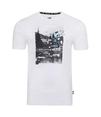 Dare 2B Mens Strife Graphic Print T-Shirt (White) - UTRG4762