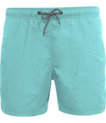 short de bain Homme - PA168 bleu turquoise