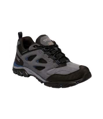 Regatta Mens Holcombe IEP Low Hiking Boots (Granite/Dark Denim) - UTRG3659