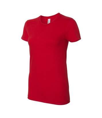 American Apparel - T-Shirt - Femme (Rouge) - UTBC4005