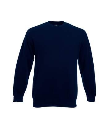 Fruit Of The Loom Mens Set-In Belcoro® Yarn Sweatshirt (Black) - UTBC365