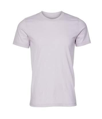 Canvas Unisex Jersey Crew Neck T-Shirt / Mens Short Sleeve T-Shirt (Heather Midnight Navy) - UTBC163
