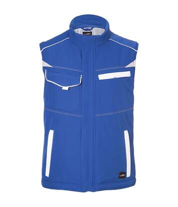 Bodywarmer softshell Hiver unisexe - JN854 - bleu roi