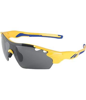 Lunettes de soleil sport Yellow / Royal Blue