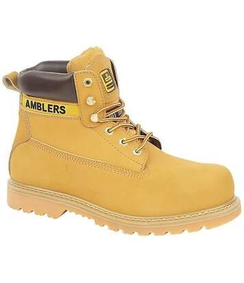 Amblers - Chaussures Montantes De Sécurité - Homme (Beige foncé) - UTFS817