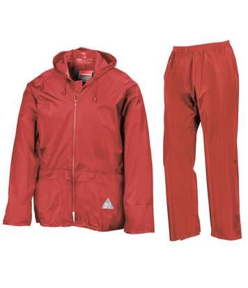 Result - Veste Et Pantalon De Pluie - Homme (Jaune néon) - UTRW3238